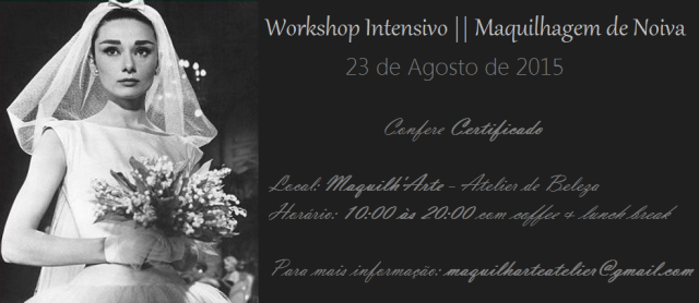 workshop maquilhagem noiva